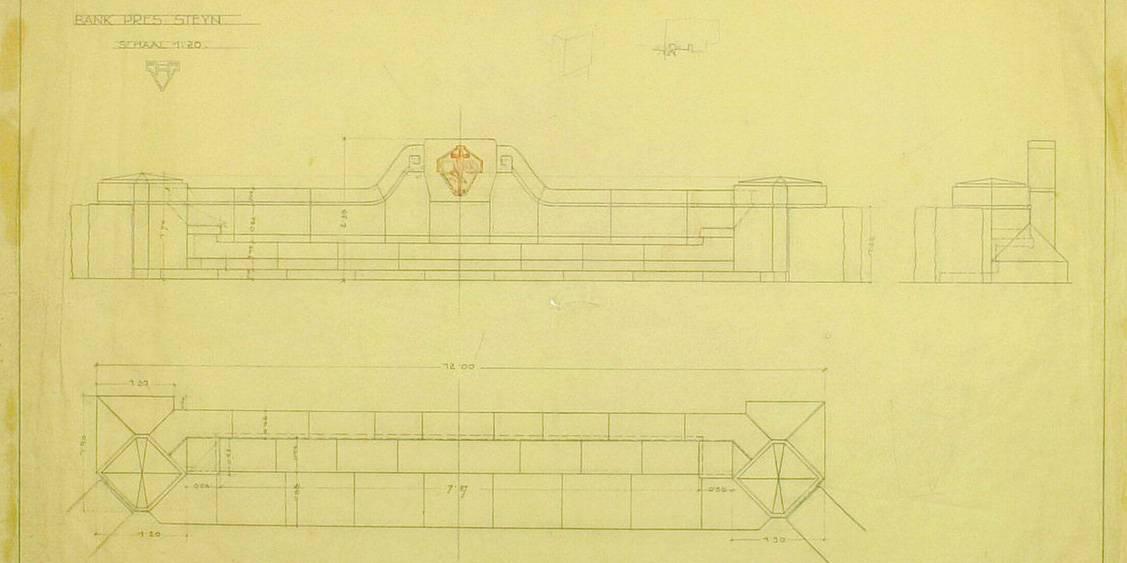 Henry van de Velde, Ontwerp voor Steynbank, 1924