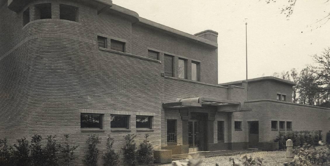 Henry van de Velde, Villa Groot Haesebroek, entree