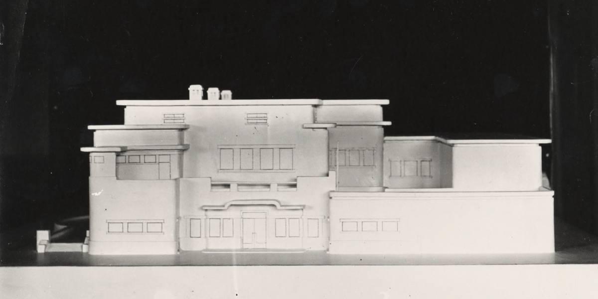 Henry van de Velde, Maquette van Villa Groot Haesebroek, 1930