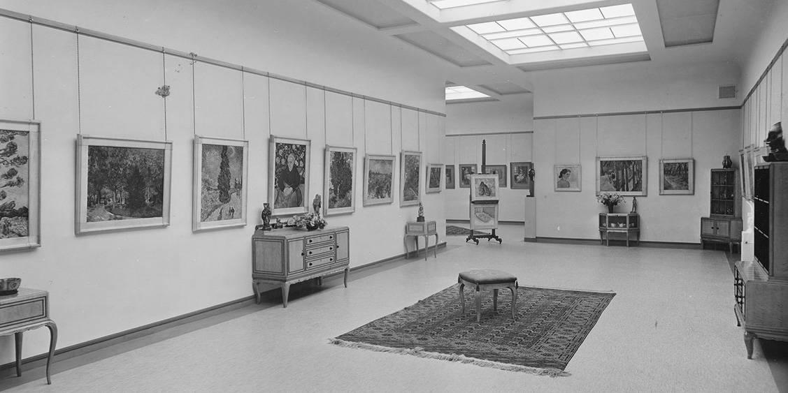 Interior of Rijksmuseum Kröller-Müller, July 1938