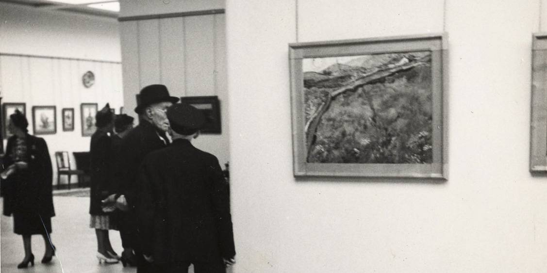 The opening of the Rijksmuseum Kröller-Müller, 13 July 1938