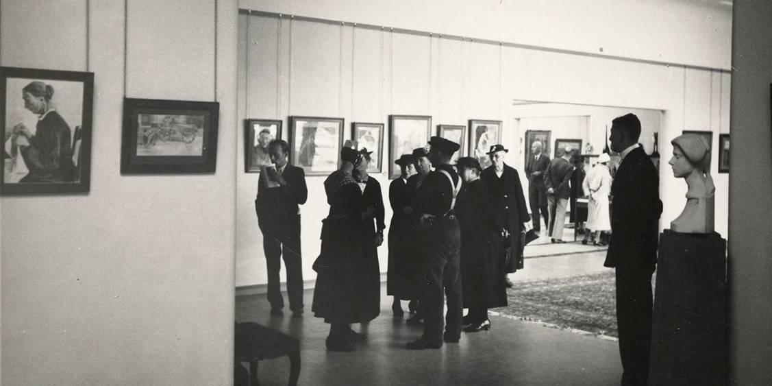 Opening van Rijksmuseum Kröller-Müller, 13 juli 1938