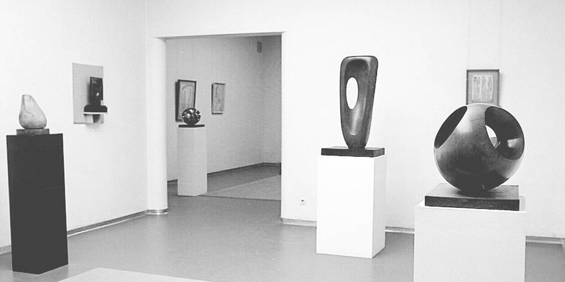 Tentoonstelling Barbara Hepworth, Rietveldpaviljoen 1965