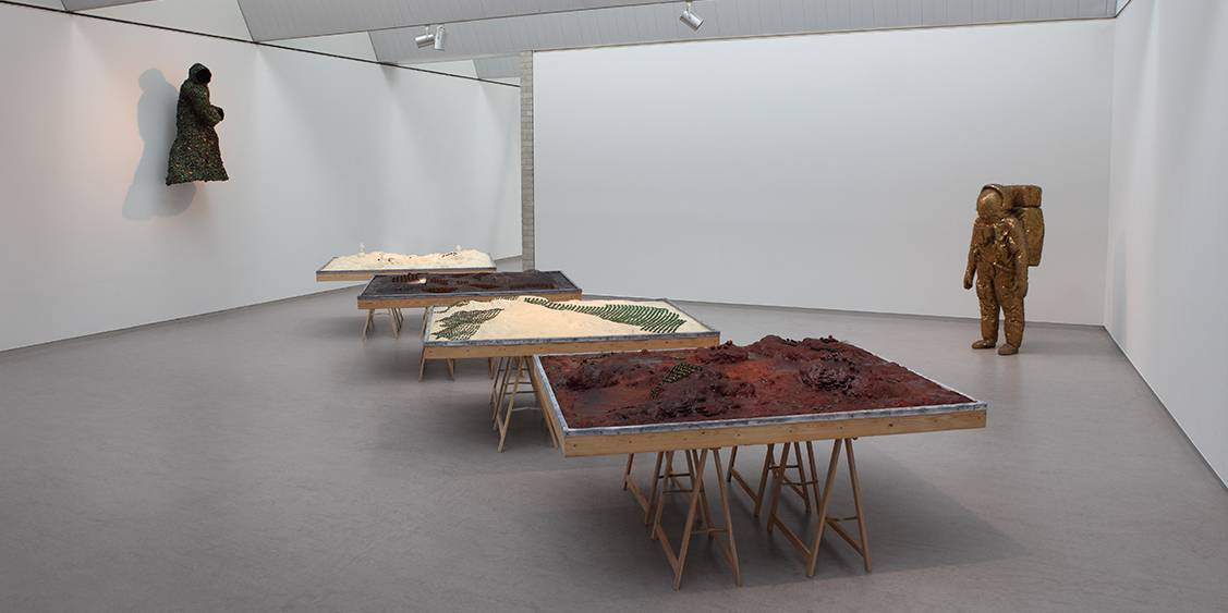 Tentoonstellingsoverzicht 'Hortus/Corpus', 2011