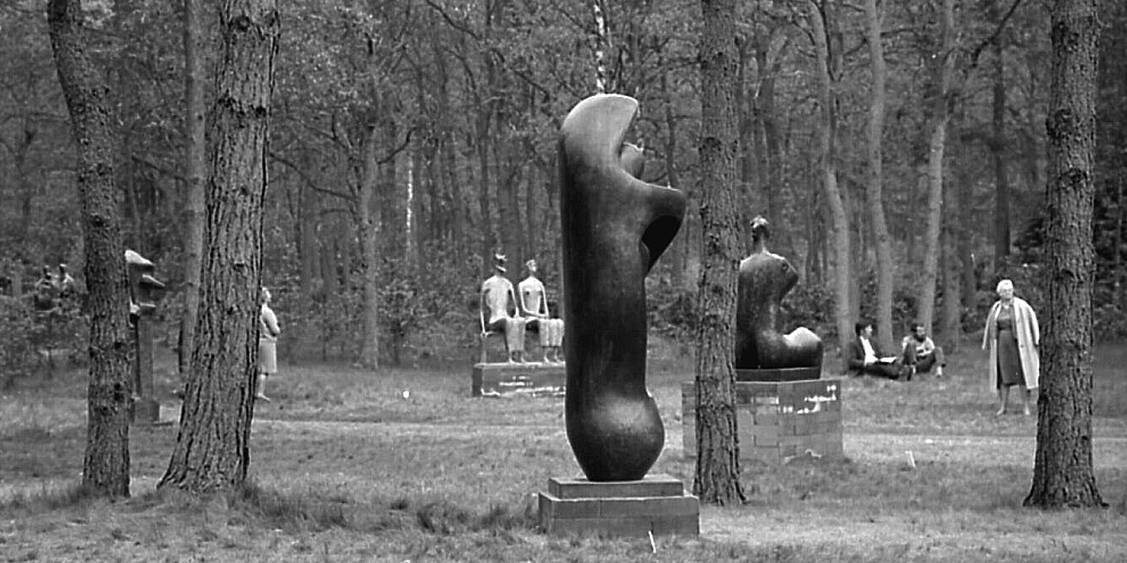 Exhibition Henry Moore, 1968