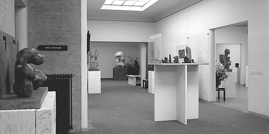 Tentoonstelling Henry Moore, 1968