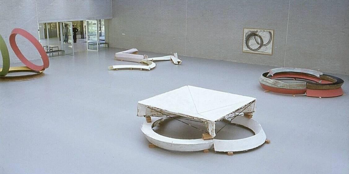 Exhibition Bruce Nauman, 1981