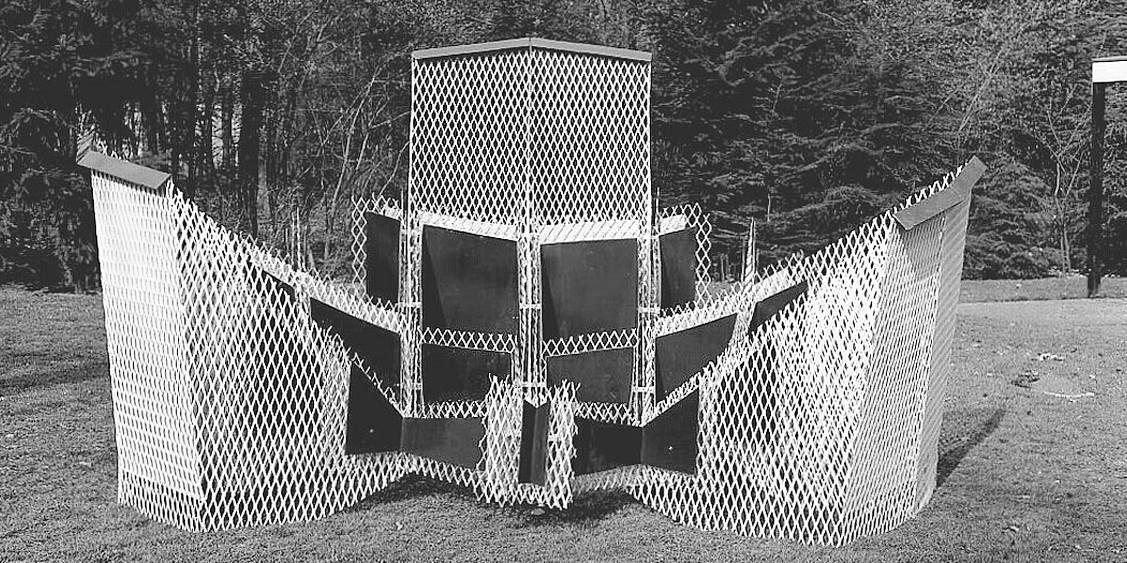 Tentoonstelling Phillip King, 1974