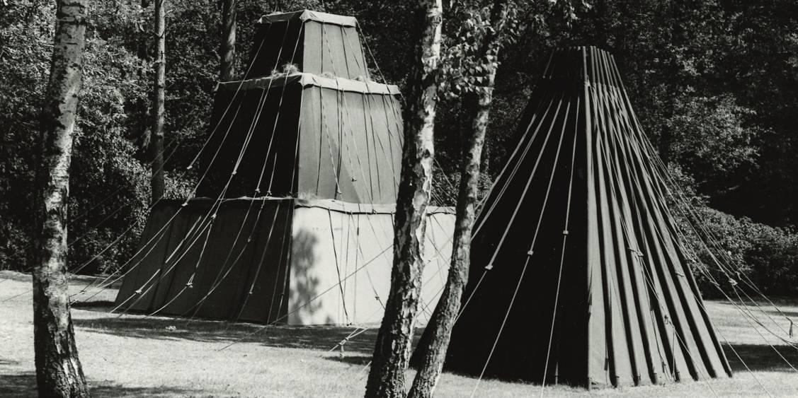 Cornelius Rogge, Tentenproject, 1975