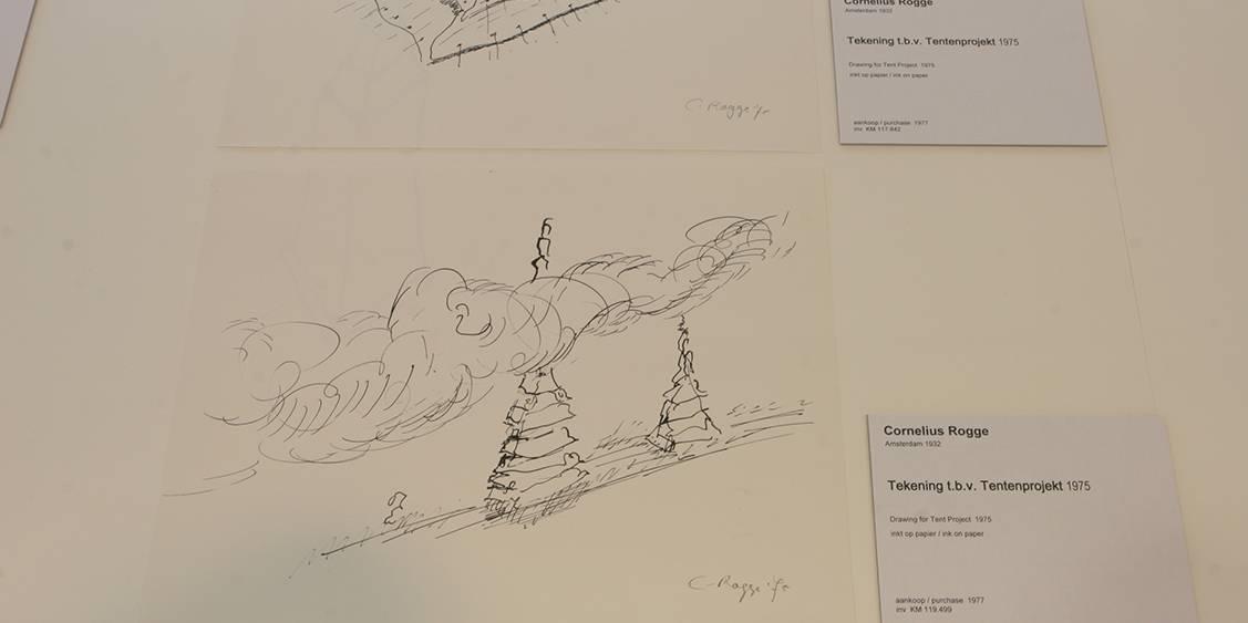 Tentoonstellingsoverzicht 'Tentenproject Cornelius Rogge', 2011