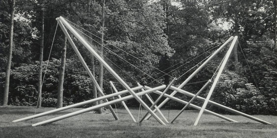 Exhibition Kenneth Snelson, 1969