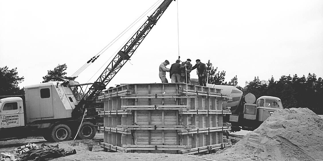 Installatie Three upright motives, 1965