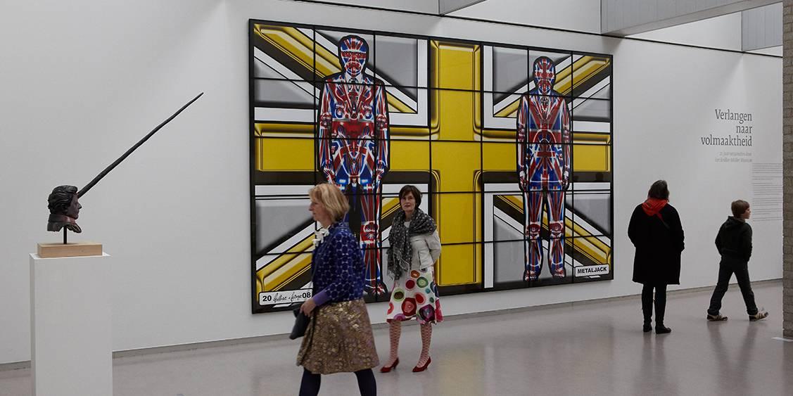 Tentoonstellingsoverzicht 'Verlangen naar volmaaktheid', 2012