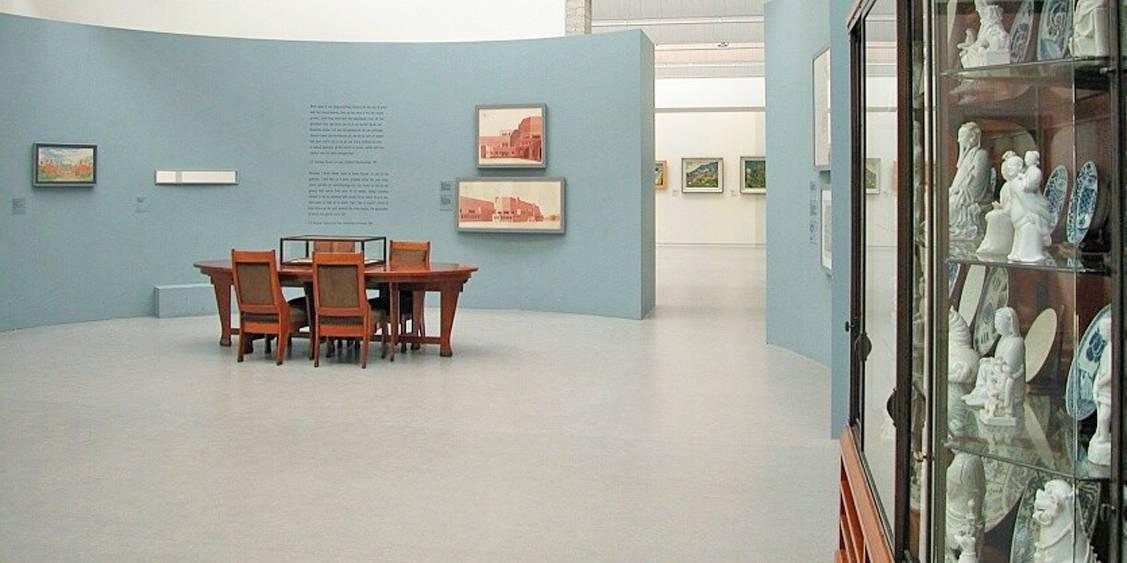 Tentoonstellingsoverzicht 'Vincent & Helene', 2003