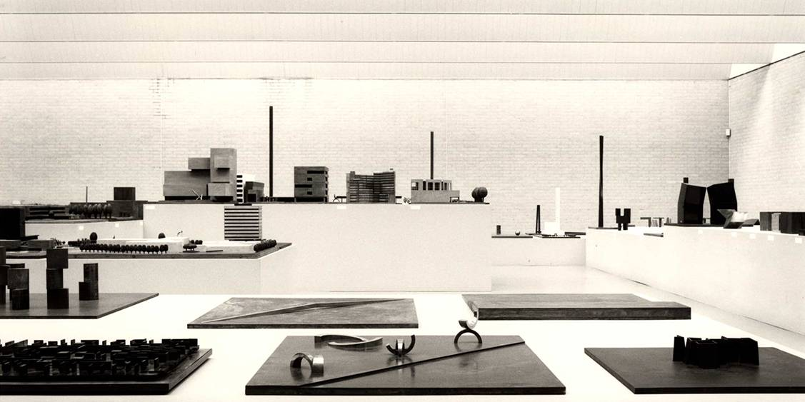 Tentoonstelling André Volten, 1985