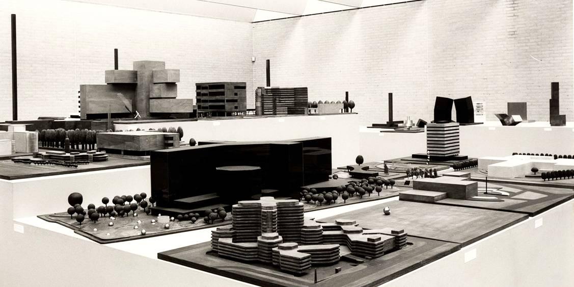 Exhibition André Volten, 1985