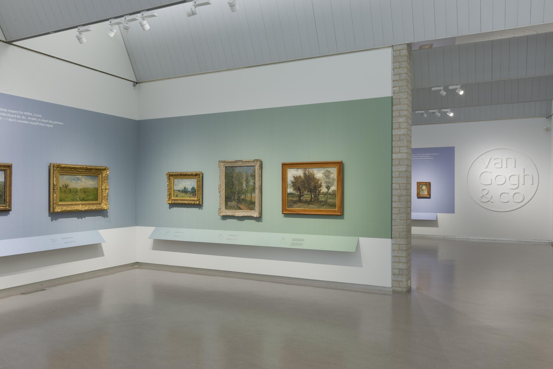Van gogh co dwars door de collectie kr ller m ller museum - Entree schilderij ...