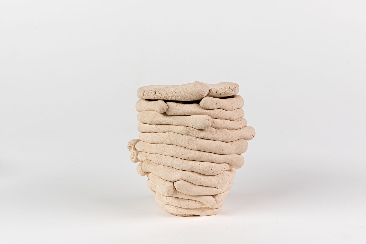 Coil pots, Barry Flanagan